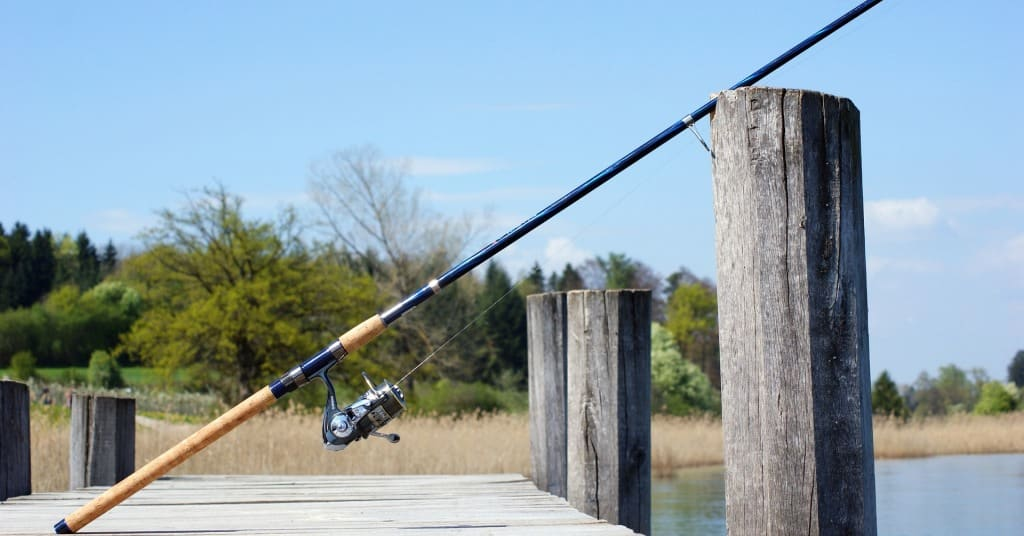 River Fishing Rod and Reel